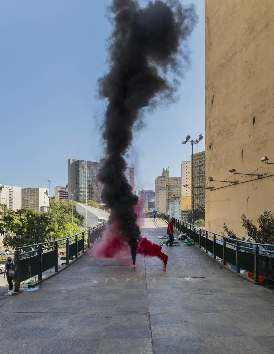 Praca-da-Bandeira-localizada-no-centro-de-Sao-Paulo.-Foto_-Fumaca-Antifascista_divulgacao