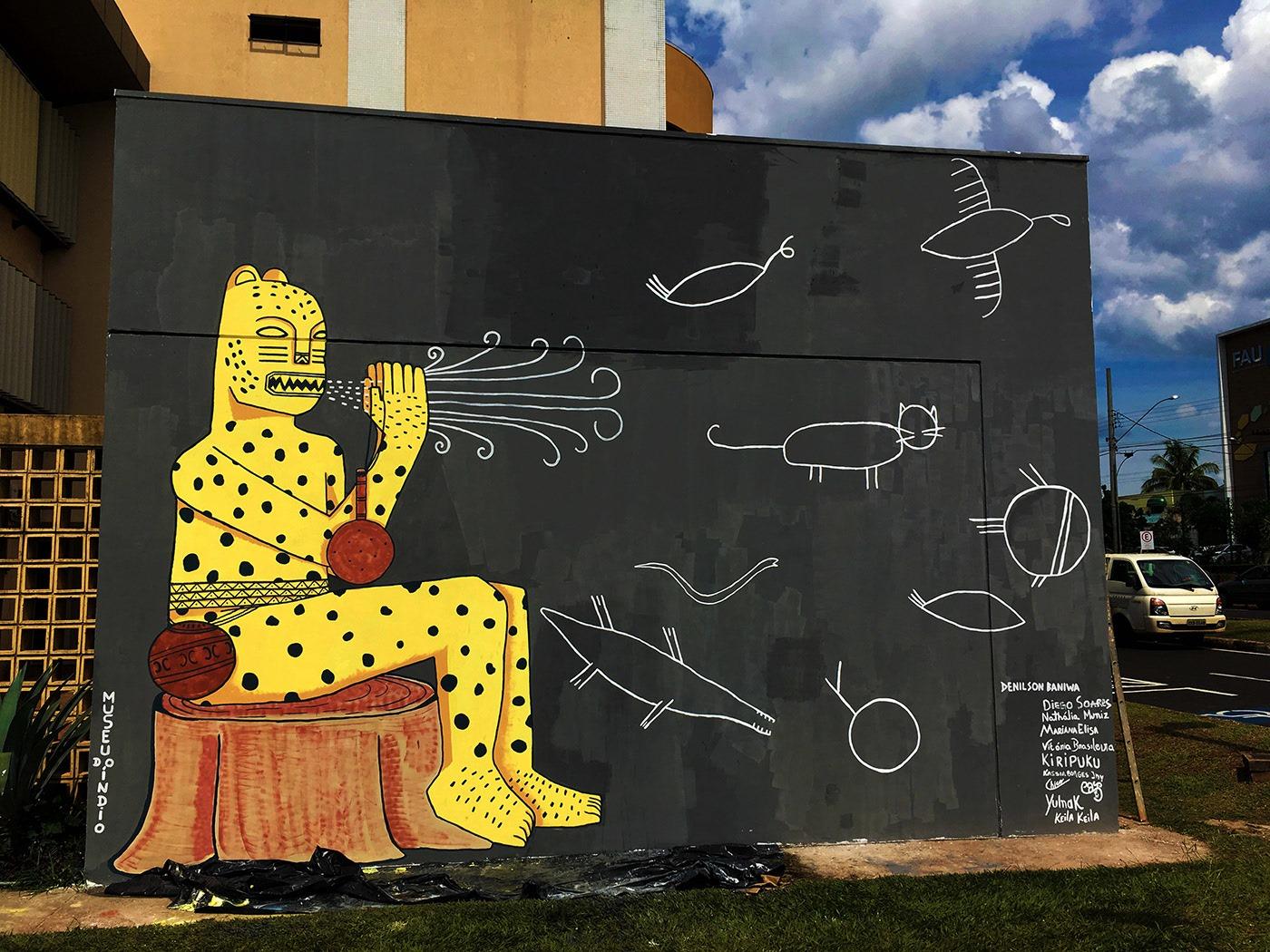 Yawarete-Paye-soprando-o-Universo-Grafite-Reitoria-da-UFU-Uberlandia-MG